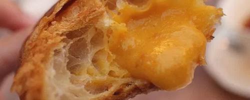 Salted Egg Lava Croissant @ Antoinette
